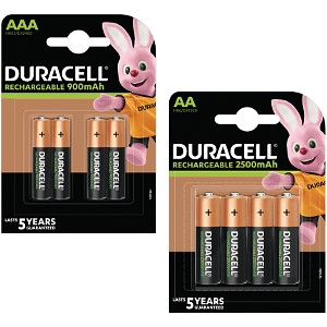 Duracell Pre-Charged AA & AAA 8pk