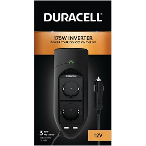 Duracell 175W Twin EU Socket Inverter