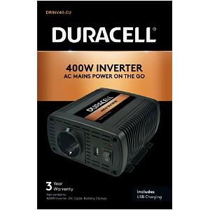 400W Power Inverter with Dual AC & USB