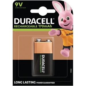 Rechargeable 9V Single Pack