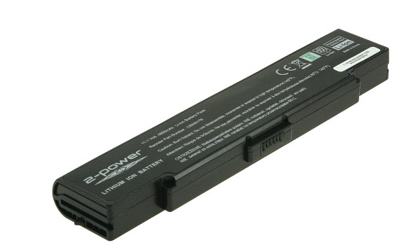 Vaio VGN-FS115M Batteri (6 Cells)