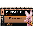 Duracell Plus Power AAA 16 pakke av Batterier