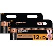 Duracell Plus D Size (Pack of 12)
