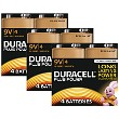 Duracell Plus Power 9v Pakke med 12